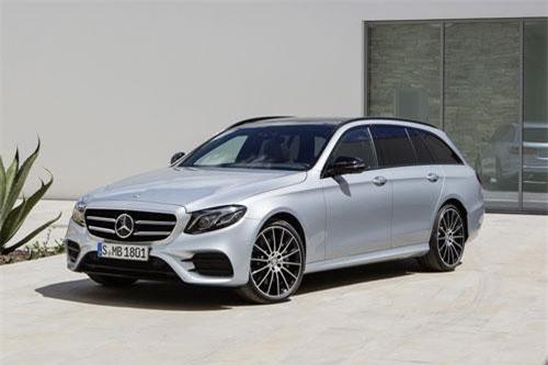 Dành cho gia đình ưa thích ôtô: Mercedes-Benz E-Class Wagon.