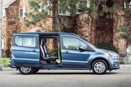 Dành cho gia đình thích mẫu xe linh hoạt: Ford Transit Connect.