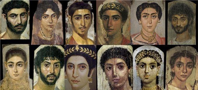 Bí ẩn những bức chân dung xác ướp Ai Cập cổ: Vẽ chính chủ và đa phần là nguyên liệu ngoại - Ảnh 3.