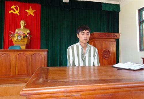Phạm nhân Vũ Xuân Cường.