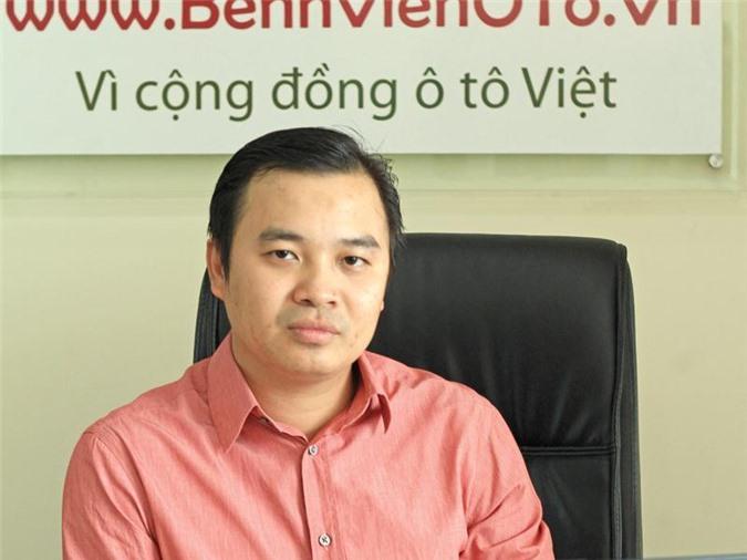 Doanh nhân Trần Hồng Ninh.