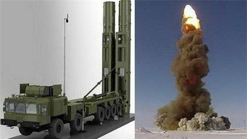 Tổ hợp tên lửa phòng không tầm siêu xa S-500 của Nga. Ảnh: TASS.