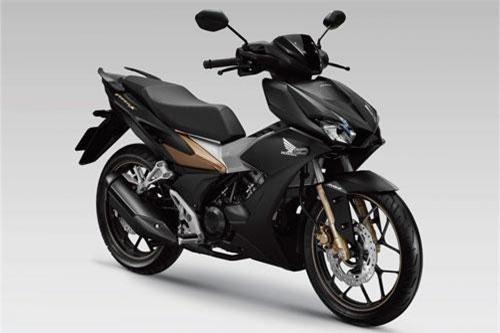 Honda Winner X 2019 màu đen mờ. Ảnh: Honda Việt Nam.