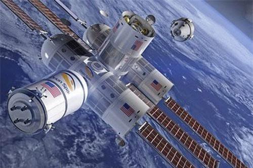 khách sạn vũ trụ có tên Aurora thuộc Orion Span