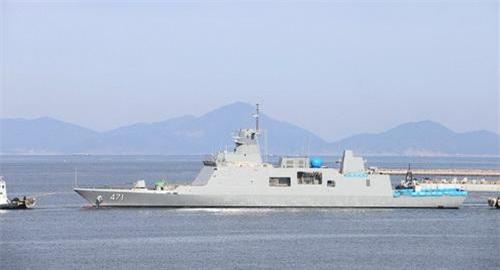 Tàu hộ vệ tên lửa tàng hình DW-3000F số hiệu 471 của Hải quân Hoàng gia Thái Lan. Ảnh: Thai Armed Forces.