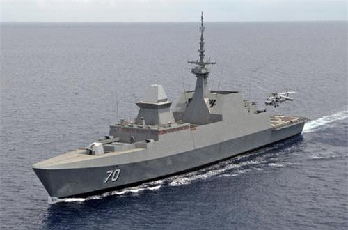 Chiến hạm RSS Steadfast số hiệu 70 của Hải quân Singapore. Ảnh: Defence Blog.