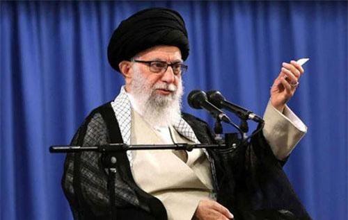 Nhà lãnh đạo tối cao Iran Ayatollah Ali Khamenei (Ảnh: AFP)