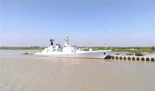 Khinh hạm UMS Sinbyushin số hiệu F14 của Hải quân Myanmar. Ảnh: Naval Today.