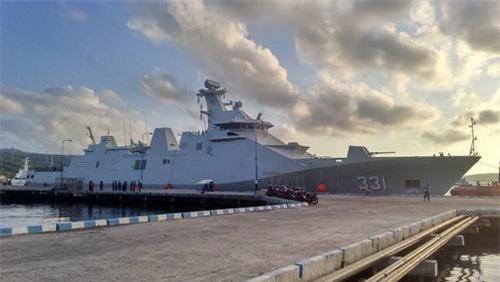 Khinh hạm SIGMA 10514 PKR số hiệu 331 của Hải quân Indonesia. Ảnh: Naval Today.