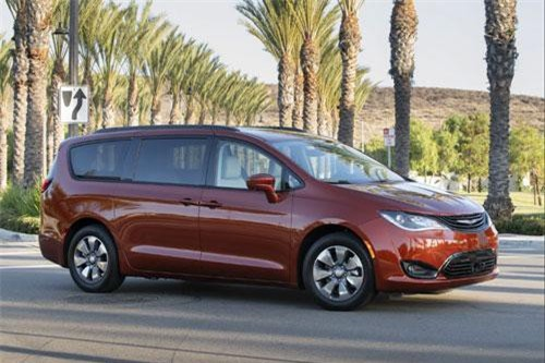 5. Chrysler Pacifica Hybrid 2019.