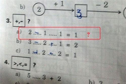 Không chỉ học sinh lớp 1, mà ngay cả người lớn cũng không thể trả lời bài toán này.