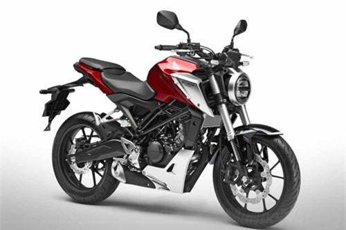 1. Honda CB125R 2019 (giá: 4.199 euro).