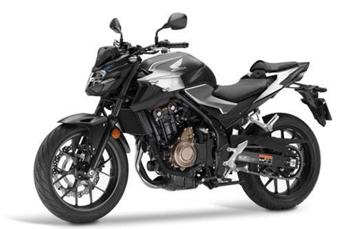 3. Honda CB500F 2019 (giá: 6.399 euro).
