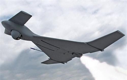Máy bay không người lái cảm tử Harop của Israel. Tập đoàn IAI.