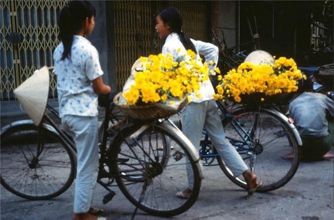 Anh cuc doc ve xe dap o Ha Noi nam 1990-Hinh-9