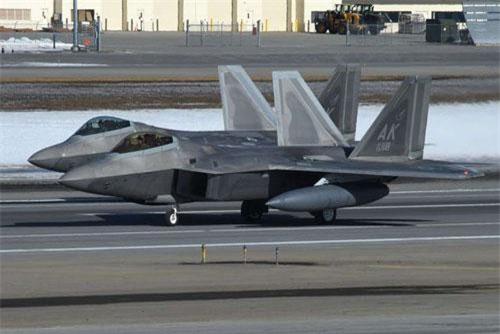 Máy bay F-22 của Mỹ. Ảnh: Quân đội Mỹ.