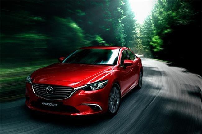 Mazda 6 (ảnh TH)