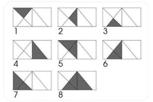 Đáp án là 8 hình tam giác