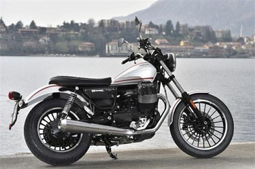8. Moto Guzzi V9 Roamer 2019 (giá: 9.990 USD).