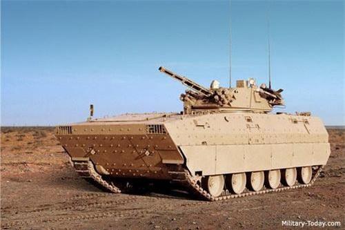 Xe chiến đấu bộ binh VN12 của Trung Quốc. Ảnh: Military Today.