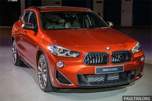 BMW X2 M35i 2019 được trang bị động cơ 4 xi lanh tăng áp với dung tích 2 lít. Động cơ này sản sinh công suất tối đa 306 mã lực, mô-men xoắn cực đại 450 Nm. Hộp số tự động 8 cấp kết hợp với hệ dẫn động 4 bánh toàn thời gian xDrive.