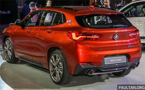 Tại Malaysia, BMW X2 M35i 2019 có giá 398.800 Ringgit (tương đương 2,250 tỷ đồng).