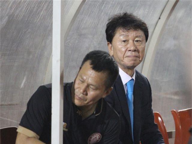 HLV Chung Hae Seong nói gì sau trận chung kết kịch tính với CLB Hà Nội? - 1