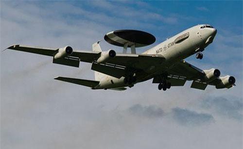 Máy bay chỉ huy và cảnh báo sớm trên không Boeing E-3 của Mỹ (Ảnh minh họa: Boeing)