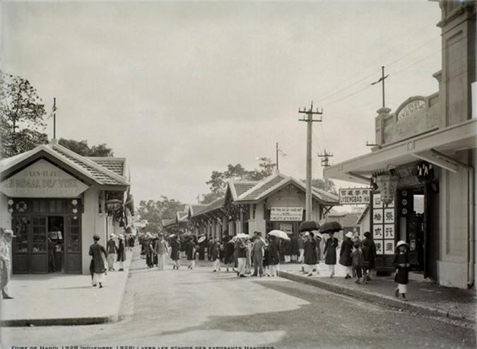 Anh doc ve hoi cho dau xao Ha Noi nam 1928-Hinh-11
