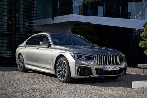 BMW 745Le xDrive 2020.