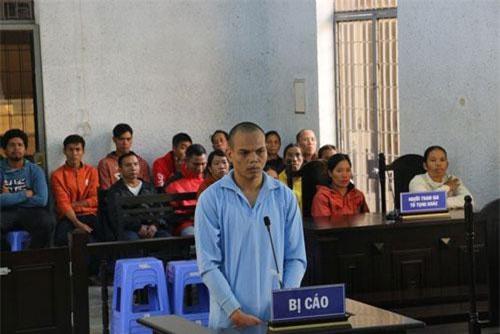 Y Nguêc tại phiên tòa sơ thẩm.