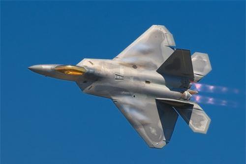 Chiến đấu cơ thế hệ 5 Lockheed Martin F-22 Raptor của Không lực Hoa Kỳ. Ảnh: Lockheed Martin.