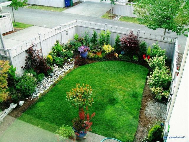 12 ý tưởng thiết kế vườn đẹp cho nhà phố