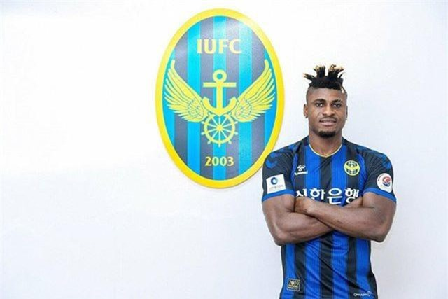 """Incheon United chiêu mộ tiền đạo """"lực điền"""" thay Công Phượng - 1"""