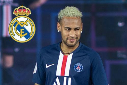 PSG muốn đẩy Neymar sang Real.