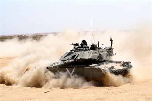 Tính năng kỹ chiến thuật của xe tăng Magach vẫn được đánh giá rất đáng gờm. Ảnh: IDF.