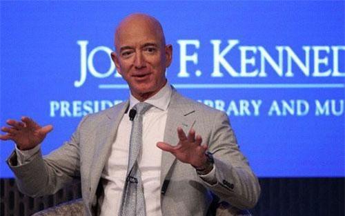 Tỷ phú Jeff Bezos