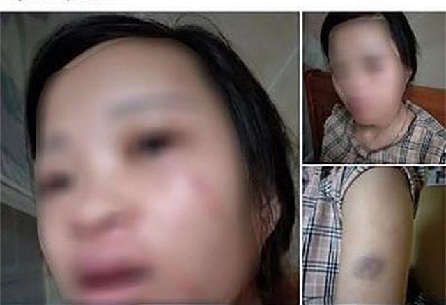 Công an làm việc với người chồng đánh vợ đang mang thai vì tội mua hàng qua mạng - 1