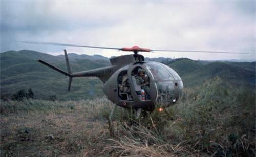 Trực thăng trinh sát OH-6 Cayuse hoạt động tại chiến trường Việt Nam. Ảnh: War History Online.