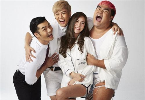 Bộ phim có sự tham gia diễn xuất của Paopech (Gas), Thongchai (Goft), Kim (Rathanand) và Natty (Pattarasaya)