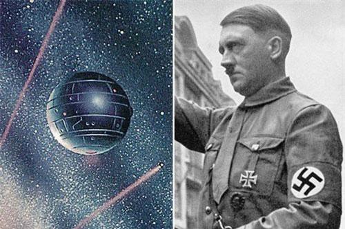Một trong những vũ khí khủng mà các nhà khoa học làm việc cho trùm phát xít Hitler nghiên cứu và phát triển là súng mặt trời thiêu đốt quân địch thành tro bụi từ ngoài không gian.