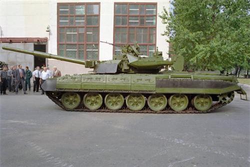 Xe tăng chủ lực kiêm xe chiến đấu bộ binh hạng nặng BMT-72 của Ukraine. Ảnh: Military Today.