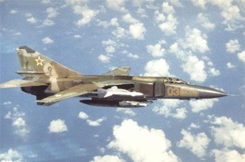 Vào ngày 4/7/1989, Đại tá Nikolai Skuridin điều khiển chiến cơ Liên Xô MiG-23M mang theo 260 viên đạn cho một khẩu súng cỡ nòng 23 mm xuất phát từ căn cứ không quân Liên Xô Bagicz gần Kolobrzeg, Ba Lan.