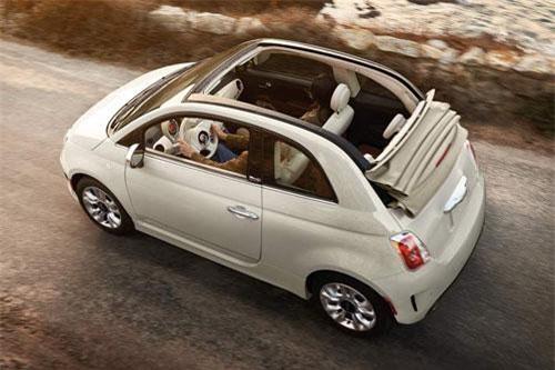 Fiat 500c Pop 2019 (giá khởi điểm: 17.740 USD).