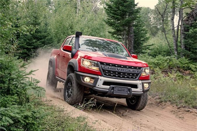 Chevrolet Colorado ZR2 Bison 2019.