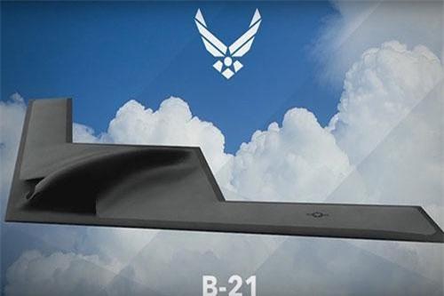 Mẫu thiết kế B-21 Raider. Ảnh: Youtube