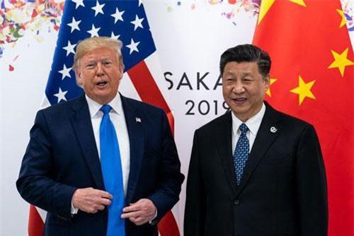 Tổng thống Trump gặp Chủ tịch Tập Cận Bình tại Nhật Bản hồi tháng 6 (Ảnh: New York Times)