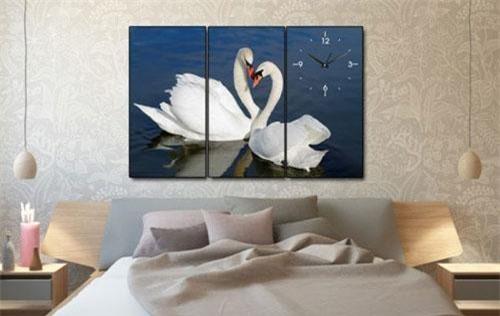 Treo tranh, ảnh đôi uyên ương tại phòng ngủ giúp vợ chồng thuận hòa.