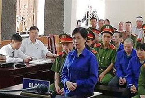 Bị cáo Đào Thị Quy tại phiên tòa ngày 31/7/2019.