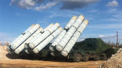 Hệ thống tên lửa phòng không S-300 của Quân đội chính phủ Syria. Ảnh: South Front.